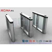 China Automated Pedestrian Barrier Gate , Turnstile Security Systems 304 Stainless Steel wholesale