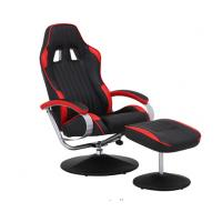 China Racing Style PU Adjustable Office Chair With Arms / Comfortable Computer Chairs wholesale