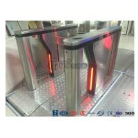 China Anti - Collision Bi - directional Drop Arm Turnstile RFID Card Single Pole Turnstile wholesale