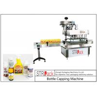 China High Speed Spindle Bottle Screw Capping Machine Flexible With 60-150 Bottles / Min wholesale