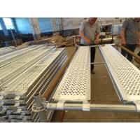 China Pregalvanized aluminum scaffold planks boards for Ringlock Scaffolding wholesale