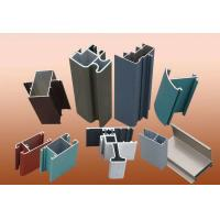 China T5 T6 Aluminium Construction Profiles / Standard Aluminium Extrusion Profiles wholesale