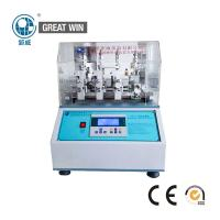 China Durable Abrasion Fabric Testing Machine For Wyzenbeek Textile Material on sale