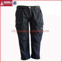 China Mens cargo long pants with cotton fabric wholesale