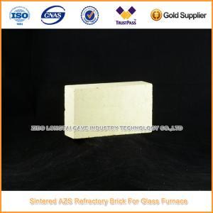China Sintered AZS Standard Brick for Glass Furnace wholesale