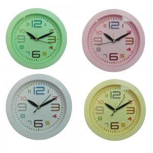 China Digital round shape alarm clock wholesale