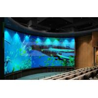 China Large curved screen 3D theatre cinema system with bubble snow rain lighting special effect system wholesale