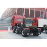 China Red J5P Dump Truck Dumper 6*2 / Heavy Duty Truck FAW JIEFANG Right Drive wholesale