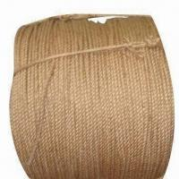 China No Knots Jute Twine/Rope/Jump Rope/Cord Trims/Wire Rope, Made of 100% Jute, 3-30m wholesale