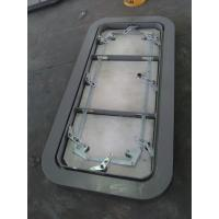 China Marine Steel Ship Weathertight Door Single Handle Quick Opening Marine Doors wholesale