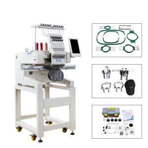 Buy cheap 9/12 Needles Computerized Single Head Embroidery Machine Similar As Tajima from wholesalers