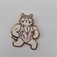 China 1.5mm 1.8mm 2.0mm Hard Enamel Lapel Pins Brass Gold Plating wholesale
