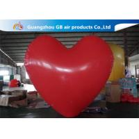 China Party Big Red Love Heart Inflatable Model PVC Helium Balloon Airtight wholesale