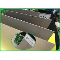 China Grade AAA Uncoated Laminated Grey Board With FSC Recycled 300g To 2000g wholesale
