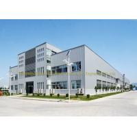 China Lightweight Pre Built Steel Buildings Painted Or Galvanized Surface Treatment wholesale