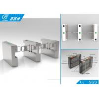 China 304 Stainless Steel Swing Gate Turnstile 25 Persons / Min With RFID Card System wholesale