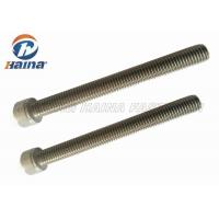 "Quality 1/2""X7"" A2 A4 Stainless Steel Hex Cap Screw Super Long Hex Bolt Passivating Treatment for sale"