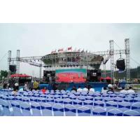Quality Spigot 6061-T6 6082-T6 Aluminum Stage Truss For Corporate Events Concerts for sale