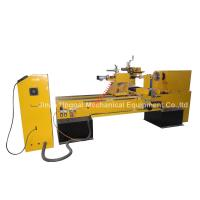 China CNC Wood Turning Broaching Engraving Machine with Single Axis Double Blades wholesale