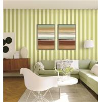 China 70cm width fireproof waterproof mould proof stripe styles PVC vinyl wallpaper wholesale