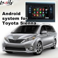 Buy cheap TOYOTA Sienna navigation video interface with rear view WiFi video mirror link cast screen product