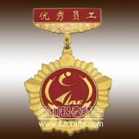 China Custom medallion soft brass metal medal for cheap--shenzhen professional factory wholesale