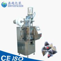 China Triangle Tea Bag Packing Machine Pneumatic Driven With Automatic Measuring Cup Feeding wholesale