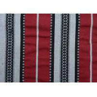 China Home Textile Sadu Black And White Striped Upholstery Fabric 270GSM wholesale
