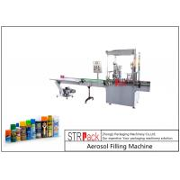 China 2000CPH Capacity Aerosol Filling Machine High Efficiency With Automatic Valve Placer wholesale