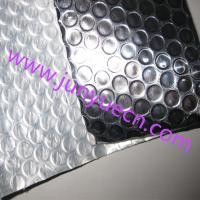 China Reflective aluminum foil bubble white poly heat  insulation materials sheet  4ft x125ft wholesale