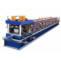 China High Efficiency CZ Purlin Roll Forming Machine PLC Control System With Servo Motor wholesale