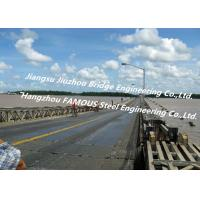 Quality Long Distance City River Crossing Bridge Pre-assembled Multi Span Steel Bailey Construction for sale