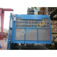 China 2000kg Rack And Pinion Hoists with Lifting Height 250m, 12 - 38 Passenger wholesale