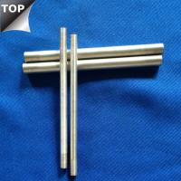 Buy cheap Customized Drawing Tungsten Silver Alloy Bar / Rod High Arc Corrosion Resistance from wholesalers