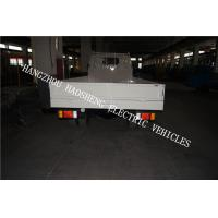 China Material Transport Electric Platform Truck 5 Tons White With Single Cab  BD-5 wholesale
