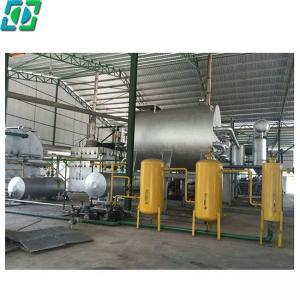 China Hotsale DDA Vacuum Distillation Black Waste Used Mobil Car Motor Engine Oil Recycling Machine /Plant /Equipment on sale