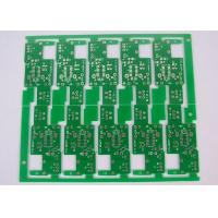 China Stamp Hole Connected 1 Layer Single Sided PCB ROHS HASL Lead Free wholesale