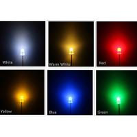 Buy cheap Water Clear SMD Light Emitting Diode , Round Top Multi Color LED Diode from wholesalers
