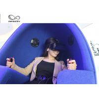 China Funny Experience 9D VR Cinema / Electricity Platform 9D Motion Chair wholesale