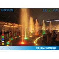 China Colored LED Underwater Light , IP 68 submersible swimming pool lights waterproof wholesale