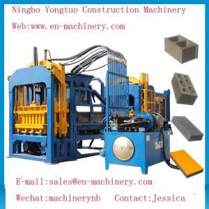 China Economical PLC Control System automatic 4-15 Cement Concrete Block Making Machine wholesale