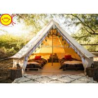 China Multifunctional Outdoor Canvas Inflatable Tent 4m 5m Saraha Camping Tipi Tent wholesale