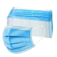 China PP Non Woven Earloop Cartoon Printed 3 Ply Surgical Face Mask wholesale