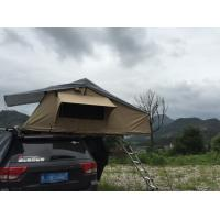 China Canvas Off Road 4x4 Roof Top Tent Single Layer TL19 For Outdoor Camping wholesale