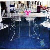 Quality acrylic cheap bar table sets for sale