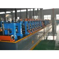 China High Frequency Straight Seam Welded Pipe Mill , Tube Making Machine wholesale