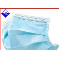 Buy cheap Colored Medical Non Woven Fabric , Disposable Face Mask Non Woven Cloth Antimicrobial from wholesalers