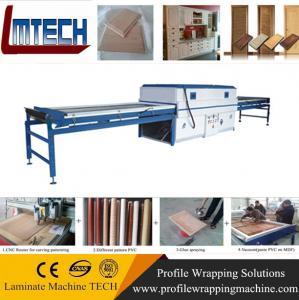 China PVC door Vacuum Surface Membrane Press Machine wholesale