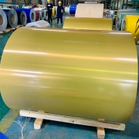 China EN573-1 Gutter Roofing Painted Aluminum Coil PE Coating T851 wholesale