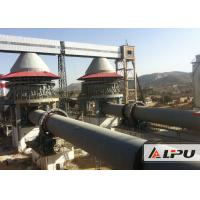 China 600 - 1000tpd Active Lime Rotary Kiln For Dolomite Calcination Dry And Wet Type wholesale